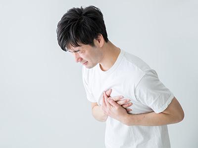 急性心筋梗塞のイメージ